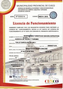 Certificados Sakura Expeditions